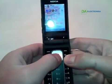 Внешний осмотр телефона Nokia 6650