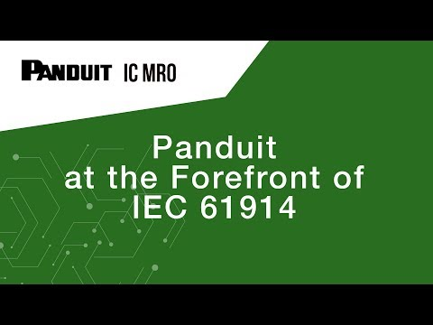 Panduit At The Forefront Of IEC 61914