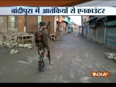 One jawan injured in an encounter with militants in Jammu's Uri sector