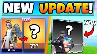 NEW Fortnite Update: New Skin Clue?! + Building Change and Item Updates in 7.20!