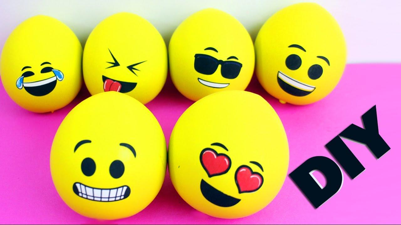 Squishy Foam And Stress Ball Emoji : How to Make An Emoji Squishy - Keeps The Shape - YouTube