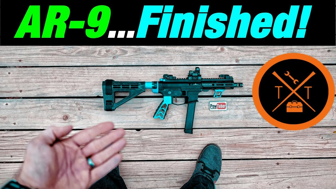 9mm AR-15 Build Angstadt Arms // NEW PARTS!