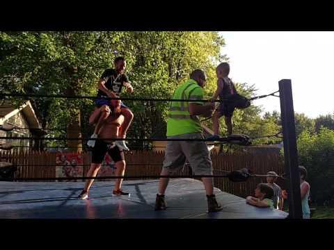 WWE kid wrestler Hogan beats dad on birthday