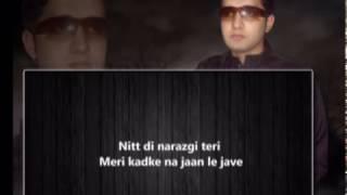 Narazgi  Aarsh Benipal   Rupin Kahlon   Lyrics Video Song   Latest Punjabi Song 2016 0304 7727377