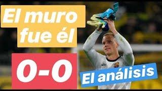 Dortmund vs Barcelona. Ter Stegen héroe y el resto. El análisis. #MundoMaldini