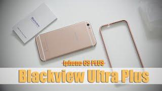 Blackview Ultra Plus (MT6735) огляд (розпакування) бюджетної репліки iPhone 6 Plus | unboxing| відгуки