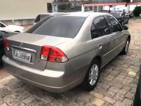 Good HONDA CIVIC 1.7 LX SEDAN 16V 4P 2003   Carros Usados E Seminovos   Mello  Automóveis   Curitiba PR