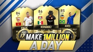 FIFA 17 | MAKE *250K AN HOUR* COINS EASY (BEST INVESTING METHOD)