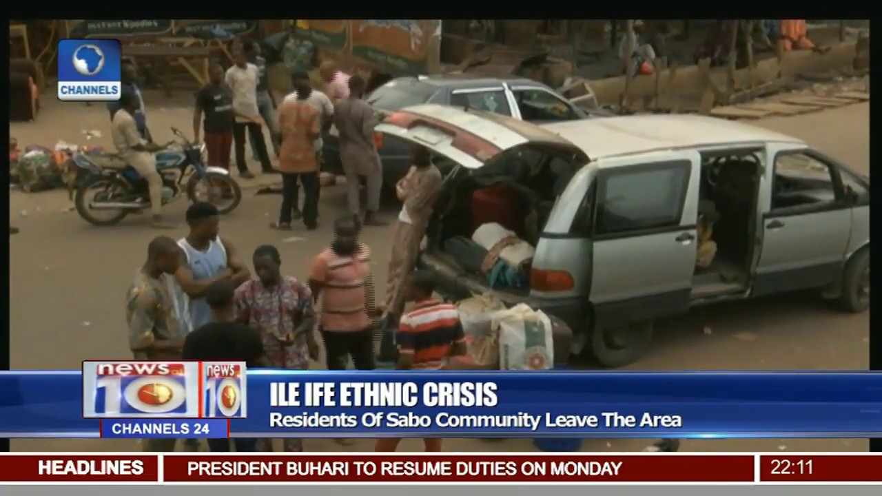 Download Ile Ife Ethnic Crisis: Residents Of Sabo Community Leave The Area