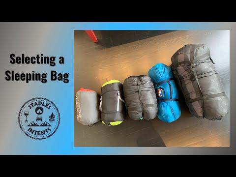 Selecting the Perfect Sleeping Bag