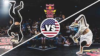 Ives vs Nico | Final B-Boys - Red Bull BC One Cypher USA 2019