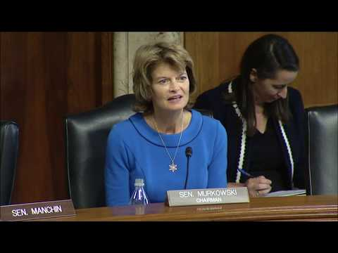 Murkowski's Closing Remarks - Nomination Hearing for Brouillette