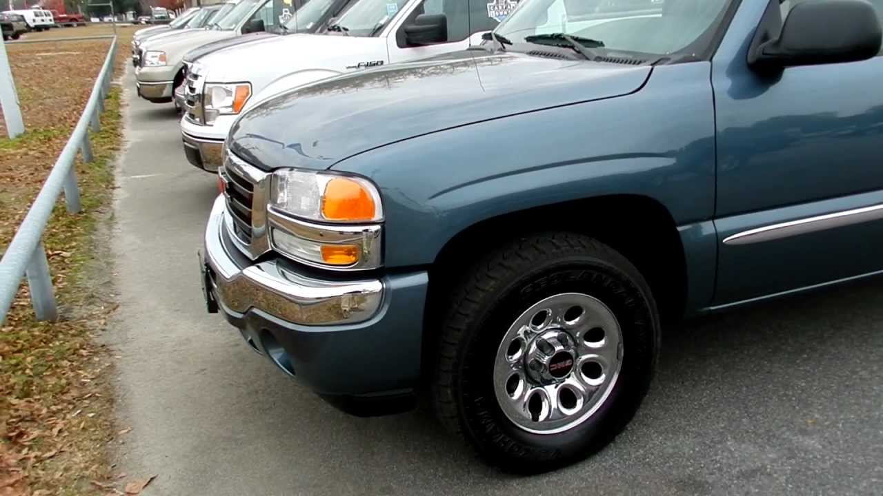 2006 gmc sierra 1500 review crew cab 4x4 for sale ravenel ford charleston youtube. Black Bedroom Furniture Sets. Home Design Ideas