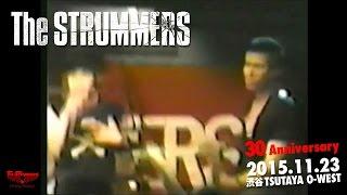 2015年11月23日渋谷TSUTAYA O-WESTで行われるThe STRUMMERS30周年記念LI...