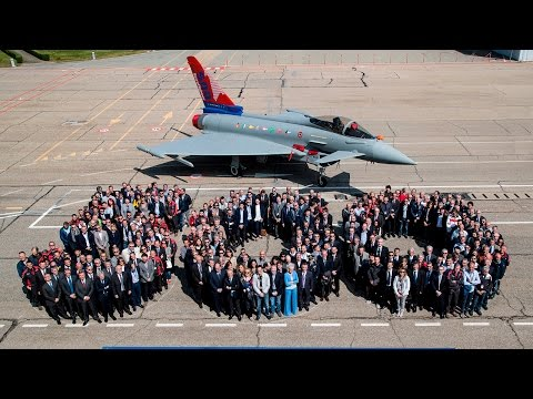 500th Eurofighter delivered to Italian Air Force