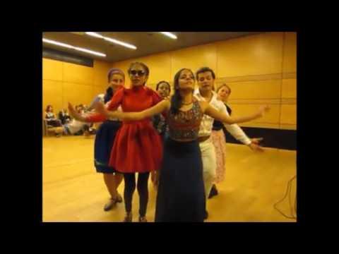 Choreomundus Cohort 4 Performance - International Folk Dance Night, Szeged