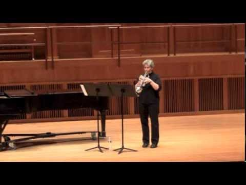 Peri Mauer   RED SKY, for trumpet [2013]