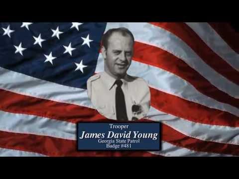 Trooper James David Young - - Georgia State Patrol, Badge #481