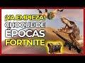 ¡CHOQUE DE MUNDOS EN FORTNITE! Tormenta de arena, anclas, desiertos... | Fortnite en Nintendo Switch