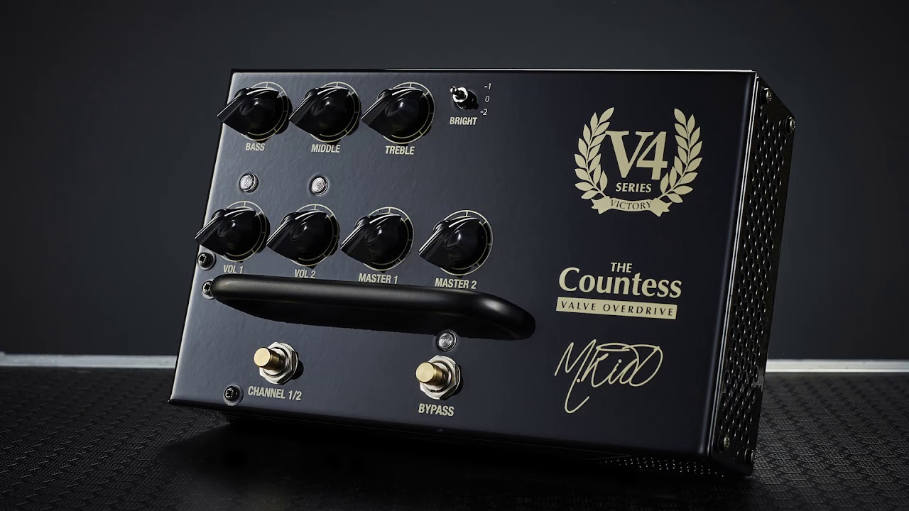 Victory Preamp Pedals Preview – Coming Summer 2018