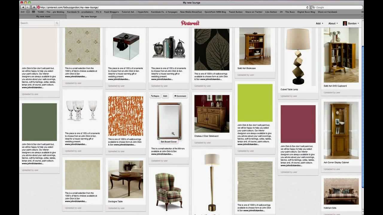 how to make a pdf of a pinterest board