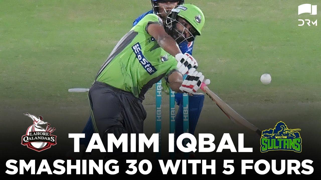 Download Bangladeshi Tiger Tamim Iqbal Smashing Innings   Lahore vs Multan   HBL PSL 2020   MB2E