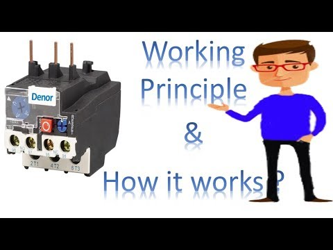 overload relay working principle thermal overload relay Earth