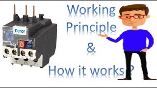 overload relay working principle   thermal overload relay   Earth Bondhon