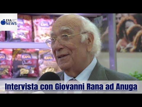 Intervista con Giovanni Rana ad Anuga