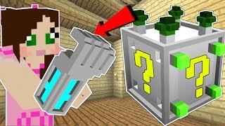 Minecraft: MECH LUCKY BLOCK!!! (ROBOTIC HAND, HOLOGRAM SWORDS, & MORE!) Mod Showcase