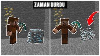 FAKİR ZAMAN DURDURMA MAKİNESİ BULDU! 😱 - Minecraft