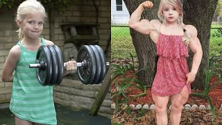The Strongest Little Girl In 2020...