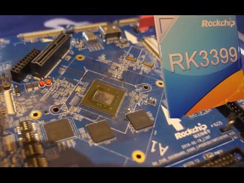 Rockchip RK3399 big.LITTLE dual ARM Cortex-A72, quad ARM Cortex-A53, Mali-T864