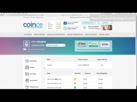 Coince Prove Of Earnings Every Day