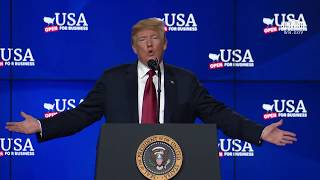 President Trump Gives Remarks at Foxconn Facility