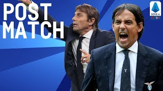 Inter 1-0 Lazio | Inzaghi & Conte Post Match Press Conference | Serie A