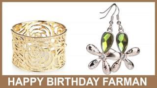Farman   Jewelry & Joyas - Happy Birthday