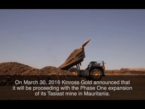 Kinross Gold Tasiast mine Phase One expansion animation
