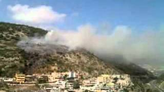 Amanos dağı yandı 2