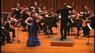 Irina Muresanu plays Enescu Romanian Rhapsody No. 1 arranged for violin and strings PART 1