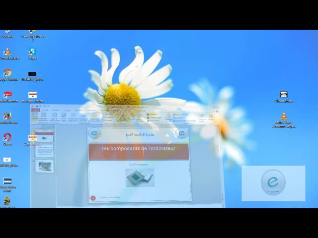 20 MS PowerPoint : Onglet Affichage : Direction Zoom Couleur Et Fenetre