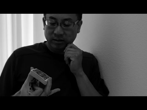 Larry Fong Practicing Cardistry