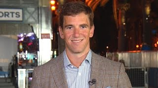 Eli Manning on Peyton's Super Bowl moment