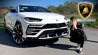 MY NEW LAMBORGHINI URUS IS FINALLY HERE!! (LAMBO SUV)