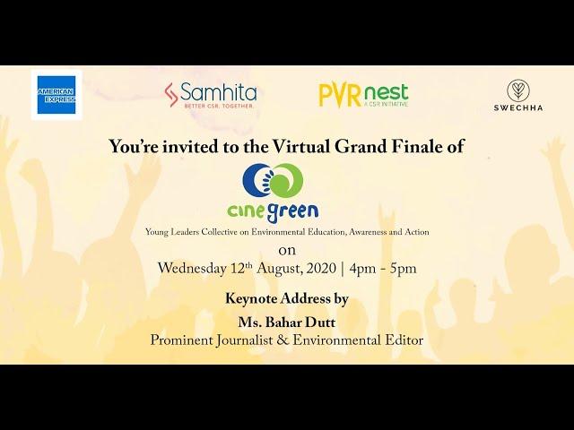 CineGreen Virtual Grand Finale