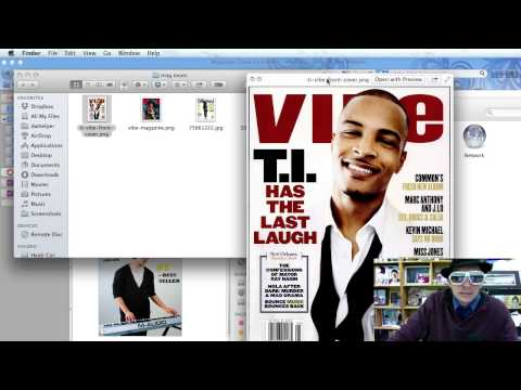 Magazine Front Cover Photoshop Tutorial