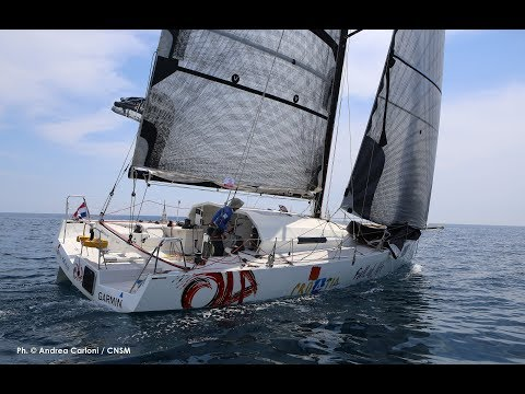 Class 40 solo offshore trening