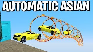 Die HEFTIGSTE AUTO AUTOMATIC MAP LEVEL ASIAN STYL (GTA 5 Online)