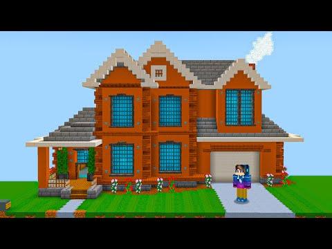 Я дал Майнкрафт Игрокам площадки что бы построить себе Дом