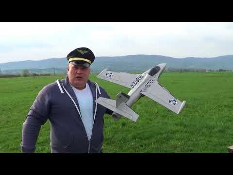 Multiplex Twister II 70mm 6S 8 blade EDF jet Test flight